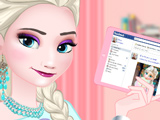 Игра Эльза Модный Блогер