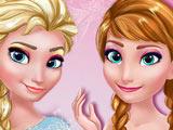 Игра Макияж Анны и Эльзы