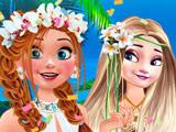 Игра День Рождения Анны на Гавайях