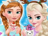 Игра Уютный Отдых Эльзы и Анны