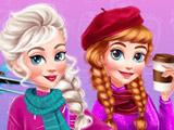 Игра Зимний Побег Анны и Эльзы