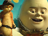 Puss in Boots and Humpty Dumpty