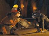 Игра Кот в Сапогах и Кити - Пазл