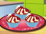 Кухня Сары: Вишневые Кексы