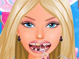 Игра Проблемные Зубы Барби