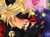 Игра Леди Баг и Супер Кот: Поцелуи