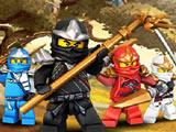 Игра Лего Ниндзяго: Бой Кружицу в Лесу