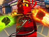 Игра Лего Ниндзяго: Нокдаун Ниндроидов