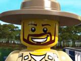 Игра Лего Сити: Полиция на Болотах
