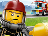 Игра Лего: Пожарная Машина