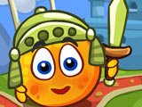 Игра Спрячь Апельсин: Рыцари