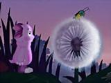 Игра Пазл: Лунтик и Одуванчик