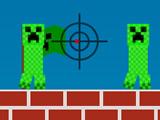Игра Майнкрафт: Стреляй Криперов