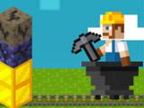 Игра Майнкрафт: Золотая Шахта