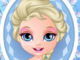 Малышка Барби в Образе Эльзы