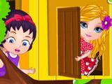 Малышка Барби Строит Дом