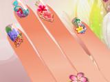 Игра Цветочный Дизайн Ногтей