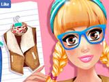 Игра Модный Дневник Колледжа