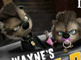Monsters on Vacation - Wayne Puppies