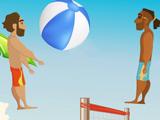 Игра на Двоих: Веселый Волейбол