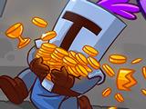 Игра Ловкий Рыцарь и Монеты