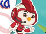 Игра Отважные Птенцы: Раскраска