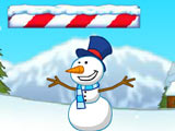 Игра Прыгающий Снеговик