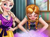 Игра Гардероб Анны и Эльзы