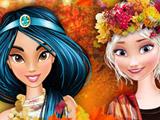 Игра Осенний Бал в Колледже Принцесс