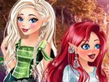 Игра Принцессы Магические Эльфы