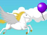 Летающий Пегас Собирает Шарики