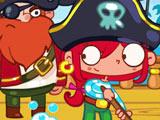 Игра Лентяйка Сара - Пират