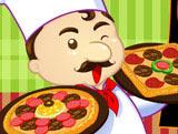 Игра Пицца: Повторяй за Шефом