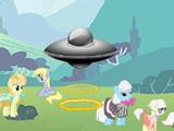 Игра Пони Против НЛО