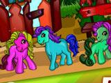 Игра Раскраски Пони