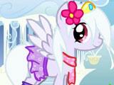 Игра Одевалка Зимнего Пони