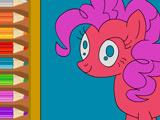 Игра Раскраска Пинки Пай