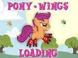 Игра Пони на Роликах