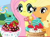 Игра Мороженое для Пони