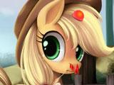 Игра Пони: Лечить Эпплджек