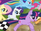 Игра Забег с Пони