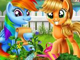 Игра Пони: Вегетарианский Сад