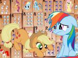 Игра Маджонг с Пони