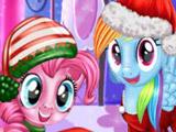 Игра Новогодняя Вечеринка Пони