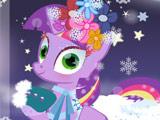 Игра Пони: Зимняя Одевалка