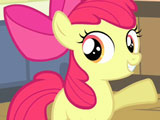 Игра Пони: Одевалка Эппл Блум