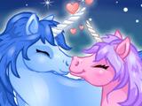 Игра Поцелуи: Чудесные Единороги