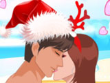 Игра Рождественский Поцелуй На Пляже