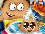 Игра Малыш Поу в Ванной