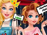 Игра Принцессы Диснея и Ретро Игры